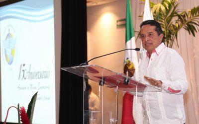 ((AUDIO)) Mensaje del Gobernador Carlos Joaquín durante la celebración del 15 Aniversario de la Asociación Mexicana de Mujeres Empresarias. Cancún.