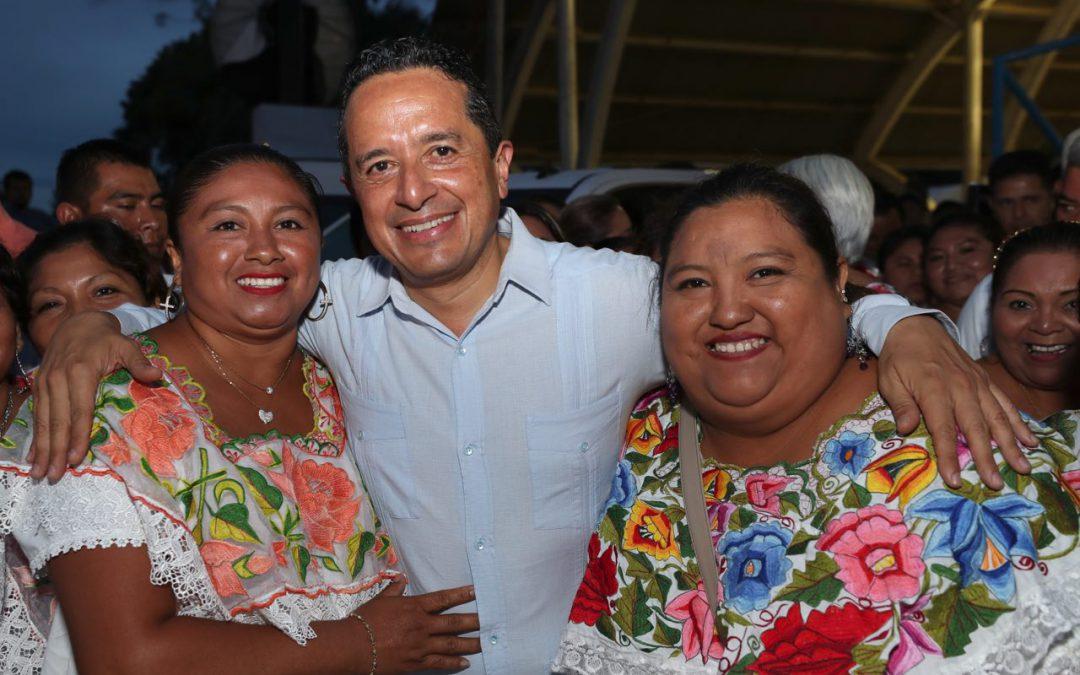 Para que las familias del campo vivan mejor, se apoya con fertilizantes y semillas: Carlos Joaquín