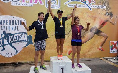 Concluye el equipo de Quintana Roo con 19 medallas en el Campeonato Nacional de Atletismo Máster Ciudad de México