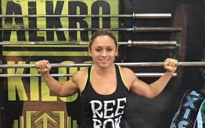 La pesista chetumaleña Carolina Valencia, por plaza al Panamericano