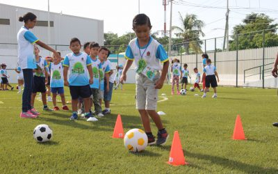 Inició el programa de verano Baaxlo´ob Paalalo´ob 2017 que acerca disciplinas deportivas a los niños