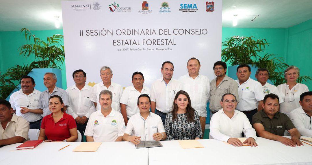 ((VIDEO)) El Gobernador Carlos Joaquín preside los trabajos de la II Sesión Ordinaria del Consejo Forestal de Quintana Roo
