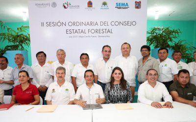 Preservar los recursos forestales permite que la gente viva mejor: Carlos Joaquín