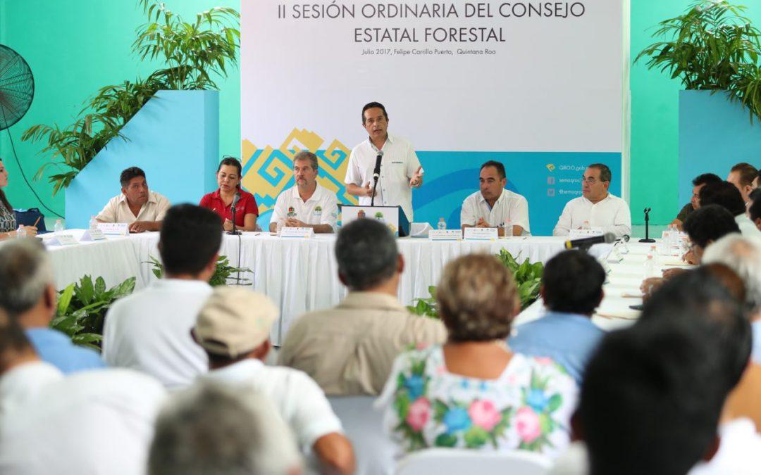 ((FOTOS)) El Gobernador Carlos Joaquín preside los trabajos de la II Sesión Ordinaria del Consejo Forestal de Quintana Roo