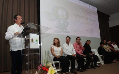 ((AUDIO)) Mensaje del Gobernador Carlos Joaquín al inaugurar el Primer Espacio de Diálogo en México y América Latina entre Jueces del Tribunal Superior de Justicia y Niños, Niñas y Adolescentes para la Promoción de sus Derechos. Cancún