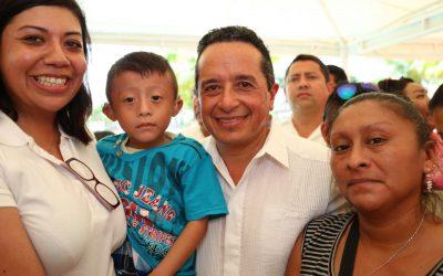 Avanzamos hacia un Quintana Roo incluyente: Carlos Joaquín
