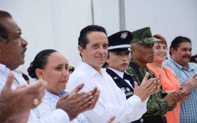 Con orden y seguridad avanzamos en Quintana Roo: Carlos Joaquín