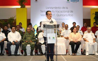 Quintana Roo está preparado para recibir a miles de turistas en este periodo vacacional: Carlos Joaquín