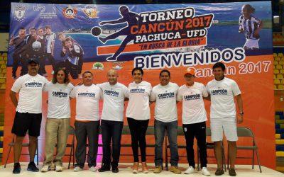 Se inaugura el Tercer Torneo Internacional Cancún Pachuca-UFD 2017