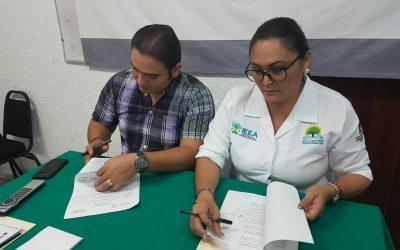 Firma convenio de colaboración IEEA-Prospera