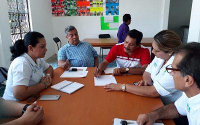Realiza equipo IEEA gira de trabajo en comunidades de la zona sur del Estado