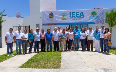 Inauguran plaza comunitaria Costa Maya para acercar servicios educativos del IEEA