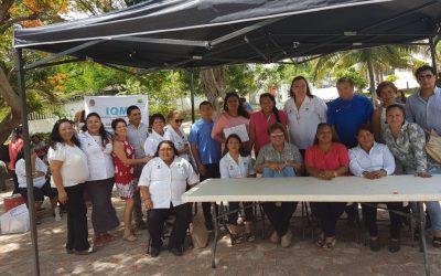 IQM realiza brigada de asistencia social para mujeres e imparte pláticas de prevención a los adolescentes