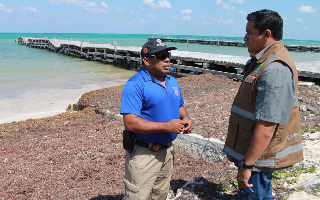 Trabaja Coeproc en conformar Comités de Evacuación en Zonas Vulnerables de Quintana Roo