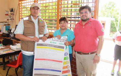Protección Civil Estatal recorre todos los rincones de Quintana Roo