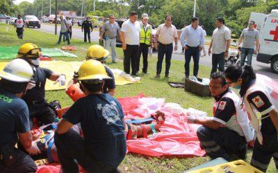 Evalúa Protección Civil Estatal situación de emergencia