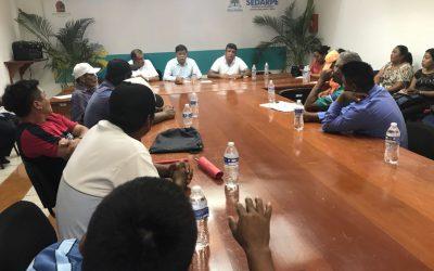 Diálogo permanente con organización Antorcha Campesina: SEDARPE