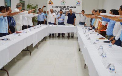 Sedetus instala el Consejo de Desarrollo Urbano y Vivienda del municipio de Bacalar