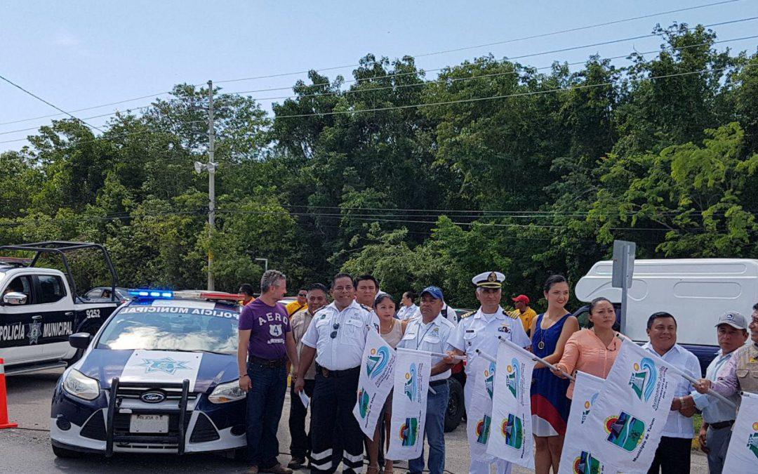 Participa Sintra en operativo vacacional en Tulum