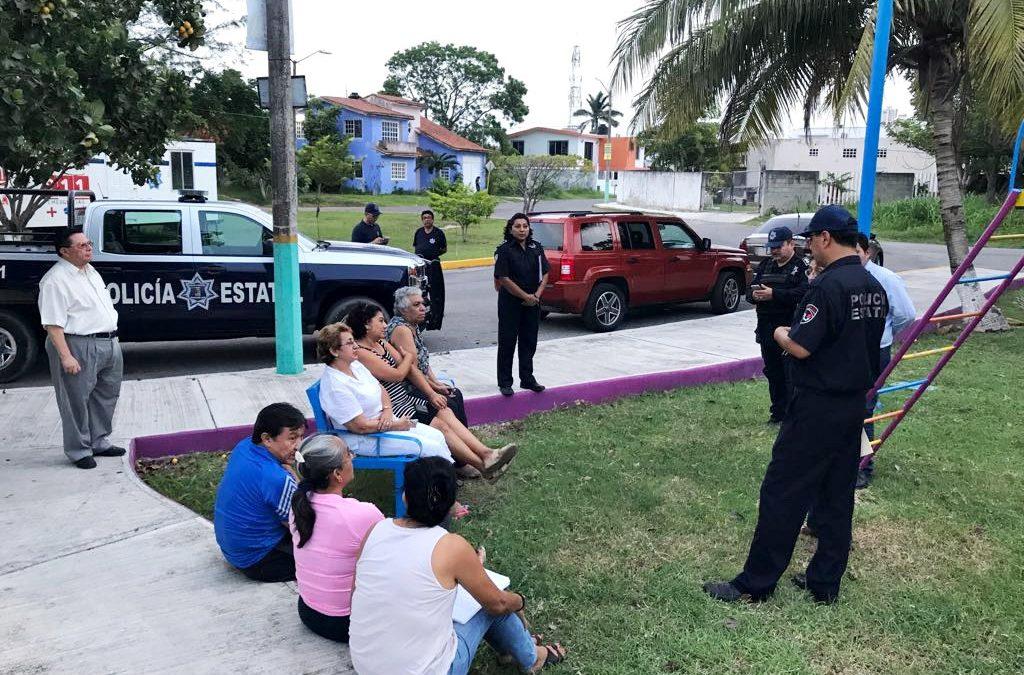 Cercanía con comités vecinales refuerza estrategia de prevención del delito