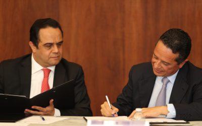 ((AUDIO)) Mensaje del Gobernador Carlos Joaquín durante la firma de convenio de colaboración para la implementación de Comisiones Abiertas y Transparencia en Publicidad Oficial, con el Instituto Nacional de Transparencia, Acceso a la Información y Protección de Datos Personales (INAI).