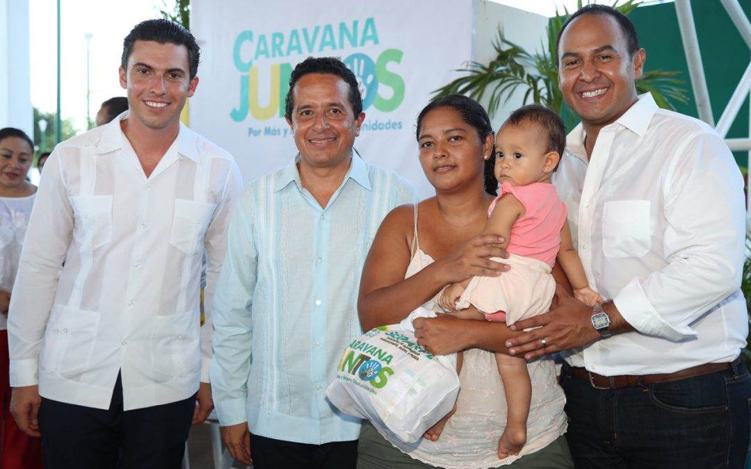 El gobierno del cambio está y estará siempre cerca de la gente: Carlos Joaquín