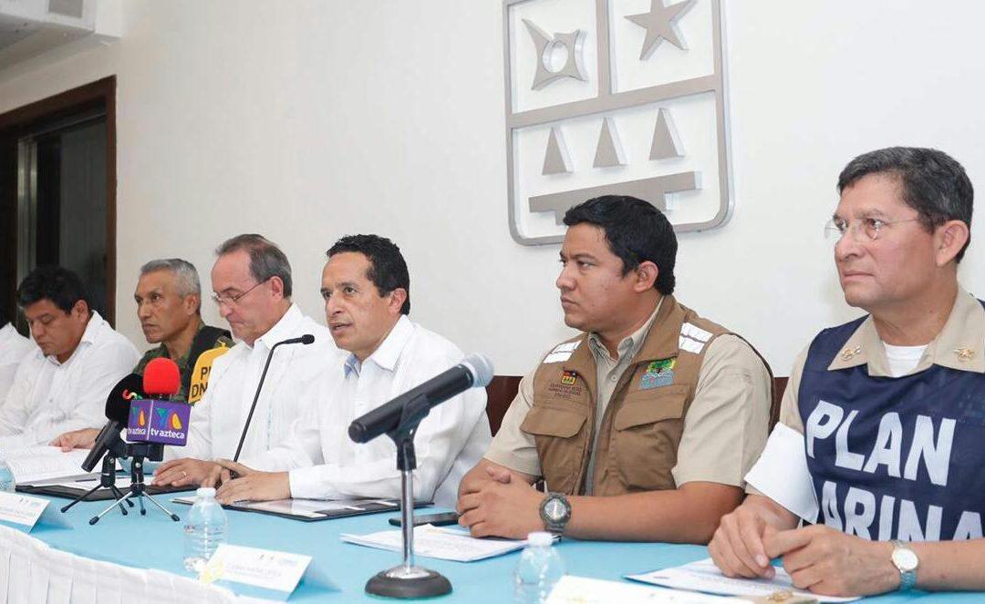 Acciones preventivas durante la contingencia arrojan saldo blanco: Carlos Joaquín