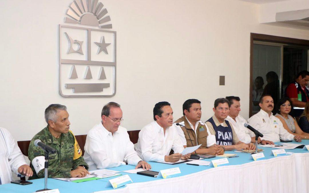 ((VIDEO)) Quintana Roo está preparado para proteger a la gente y atender los efectos de la tormenta tropical Franklin