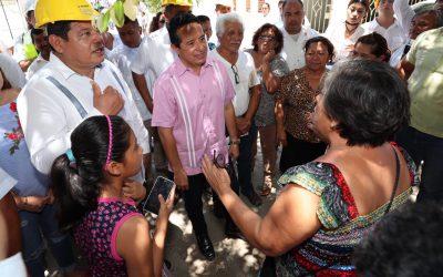 La gente vive mejor con servicios básicos de calidad: Carlos Joaquín
