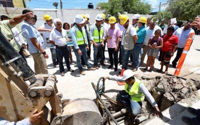 ((FOTOS)) La gente vive mejor con servicios básicos de calidad: Carlos Joaquín