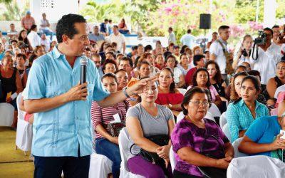 ((VIDEO)) Con créditos a la palabra a mujeres, disminuimos la desigualdad e impulsamos el desarrollo social: Carlos Joaquín
