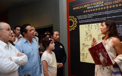 Los espacios culturales atraen turismo y el turismo genera más empleos: Carlos Joaquín