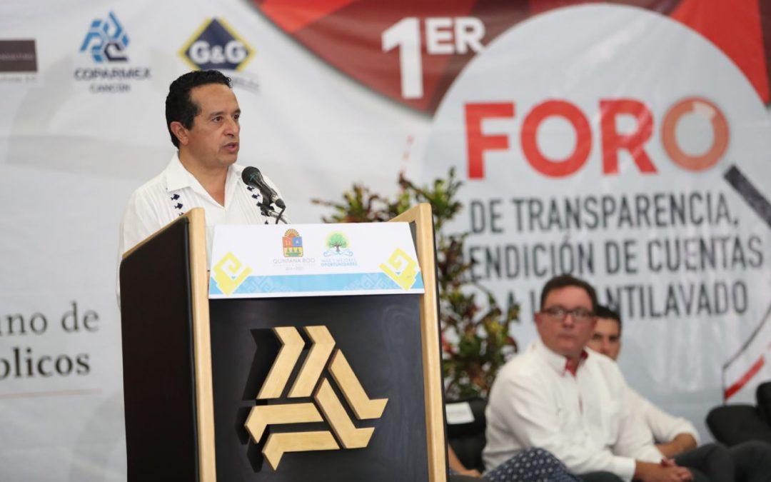 ((FOTOS)) En Quintana Roo habrá cero tolerancia en materia de corrupción: Carlos Joaquín