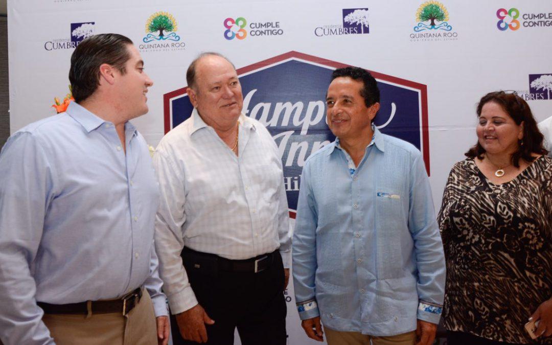 El turismo es la mejor alternativa para generar más empleos para la gente: Carlos Joaquín