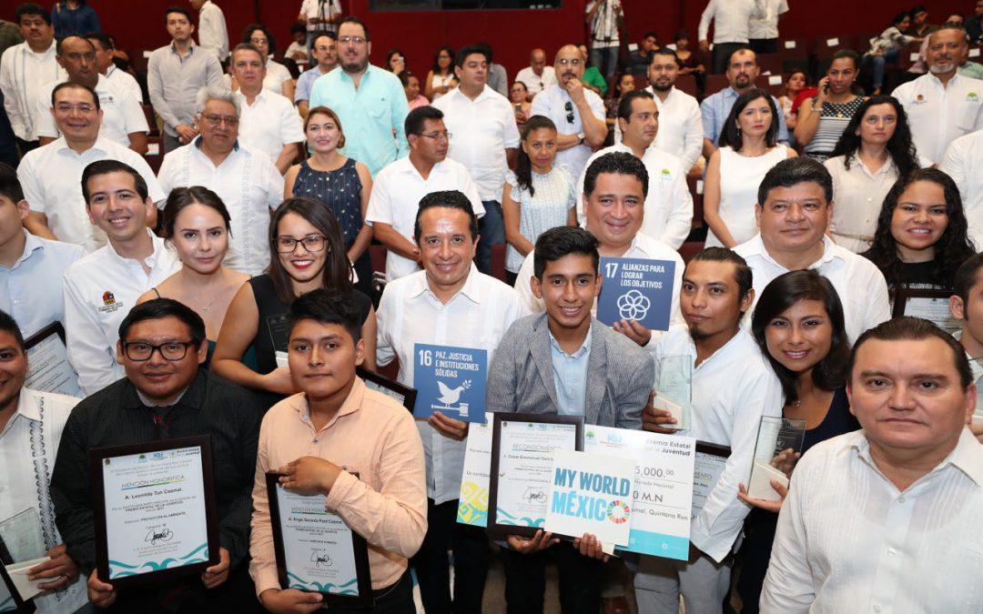 La voz de los jóvenes se escucha fuerte y claro: Carlos Joaquín