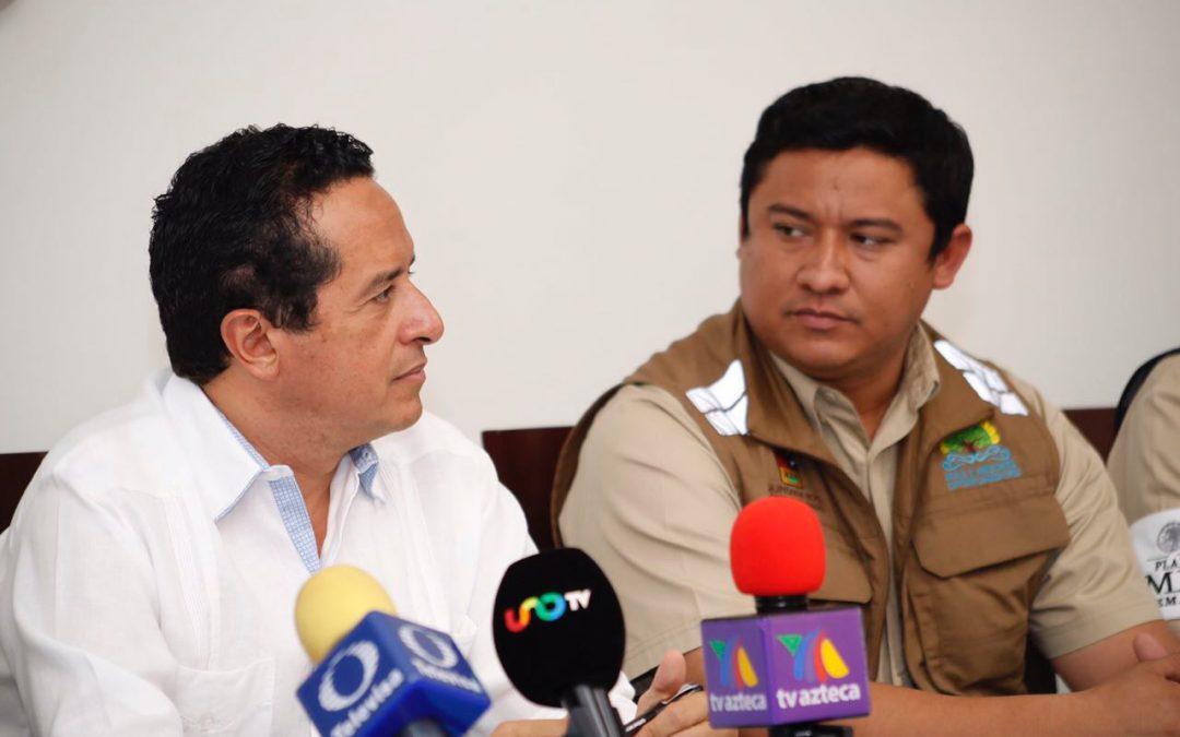 ((VIDEO)) Mensaje del Gobernador Carlos Joaquín  en la tercera sesión extraordinaria del Comité Especializado en Fenómenos Hidrometeorológicos