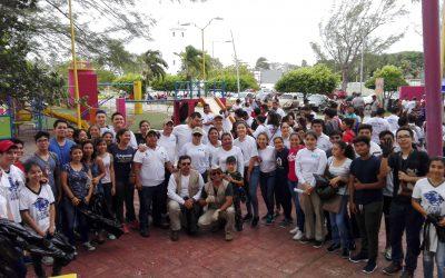 Participa gobierno y ciudadanos en la Jornada de Limpieza de la Bahía de Chetumal