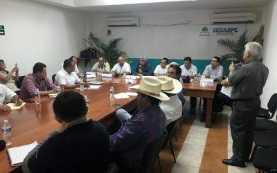 Establecen compromisos en materia de sanidades Campeche, Yucatán y Quintana Roo, durante reunión de trabajo del Grupo Regional de Tuberculosis Bovina