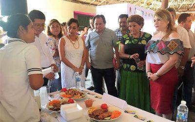 """Con éxito, realizan en Calderitas """"Degustación gastronómica con Productos Hechos en Quintana Roo"""""""