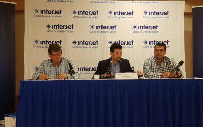 Inicia operaciones Interjet en la ruta Cancún-Bajío
