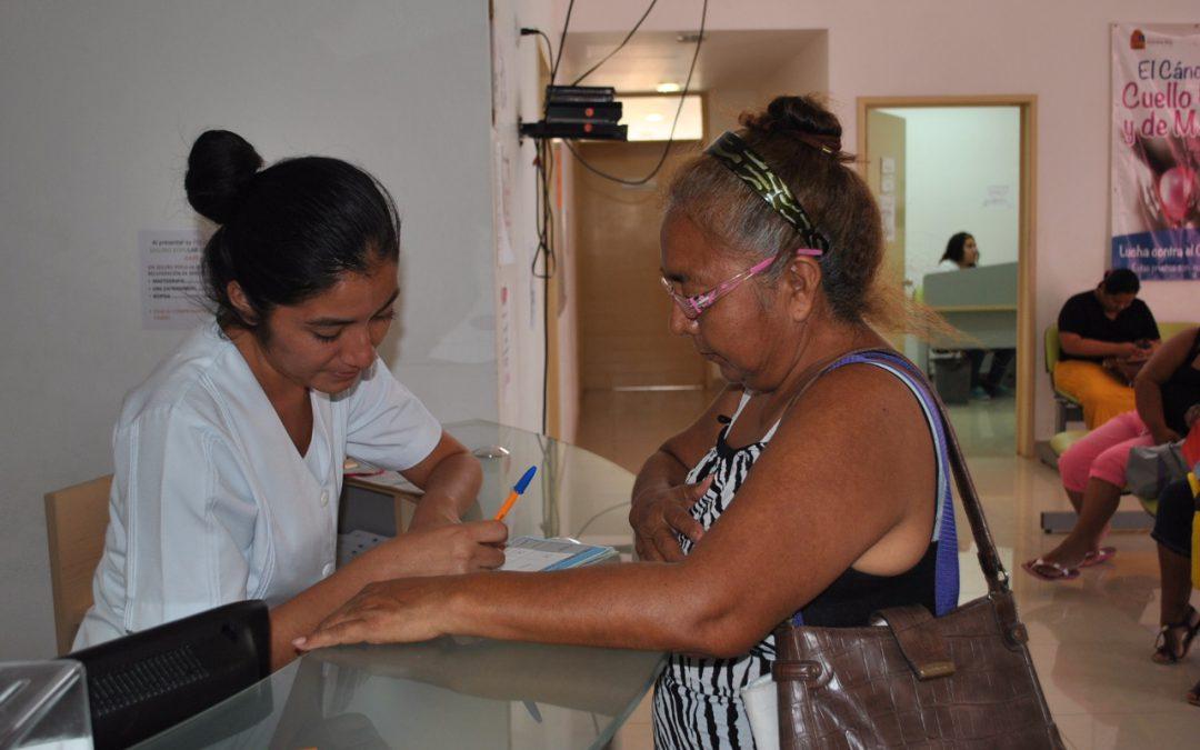 Unidades de salud de la SESA continúan ofreciendo estudios gratuitos para prevenir el cáncer de la mujer