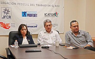 Asiste Catalina Portillo a videoconferencia con la titular de la Unidad de Enlace de la Reforma de Justicia Laboral de la STyPS Federal