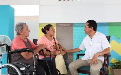 Lo importante es escuchar a la gente, que en pasadas administraciones fue ignorada: Carlos Joaquín