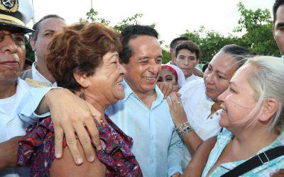 Nuevas inversiones permiten que las personas vivan mejor: Carlos Joaquín