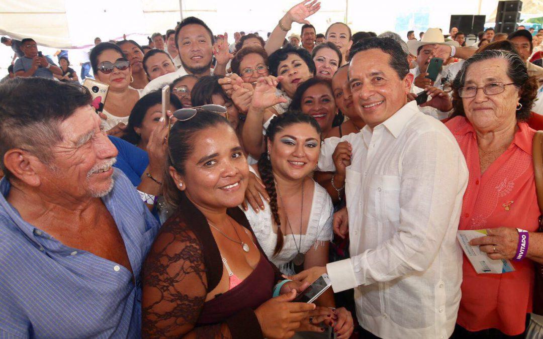 Paso a paso, impulsamos el cambio para resolver los problemas de la gente: Carlos Joaquín