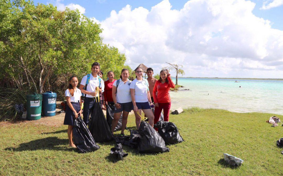 Encabeza CAPA brigadas de acción ambiental por Bacalar