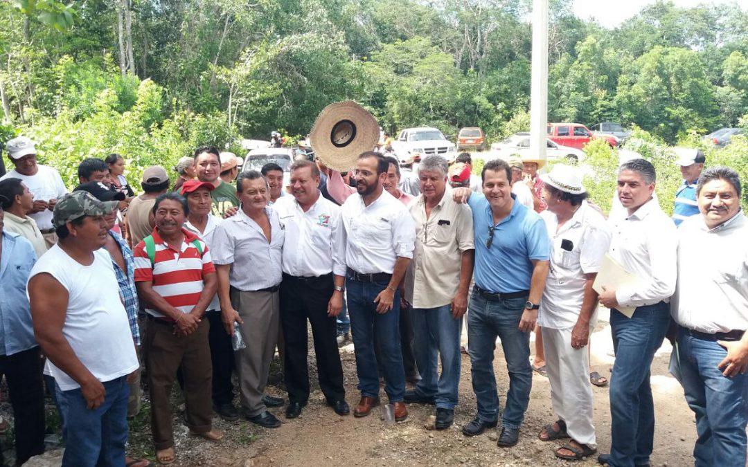 Con diálogo y voluntad se garantiza el abasto de agua potable para Holbox, ejido Chiquilá y anexo San Ángel