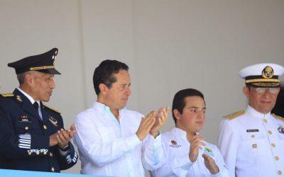 Las fuerzas armadas tienen nuestro reconocimiento por su apoyo en circunstancias de desastres naturales: Carlos Joaquín