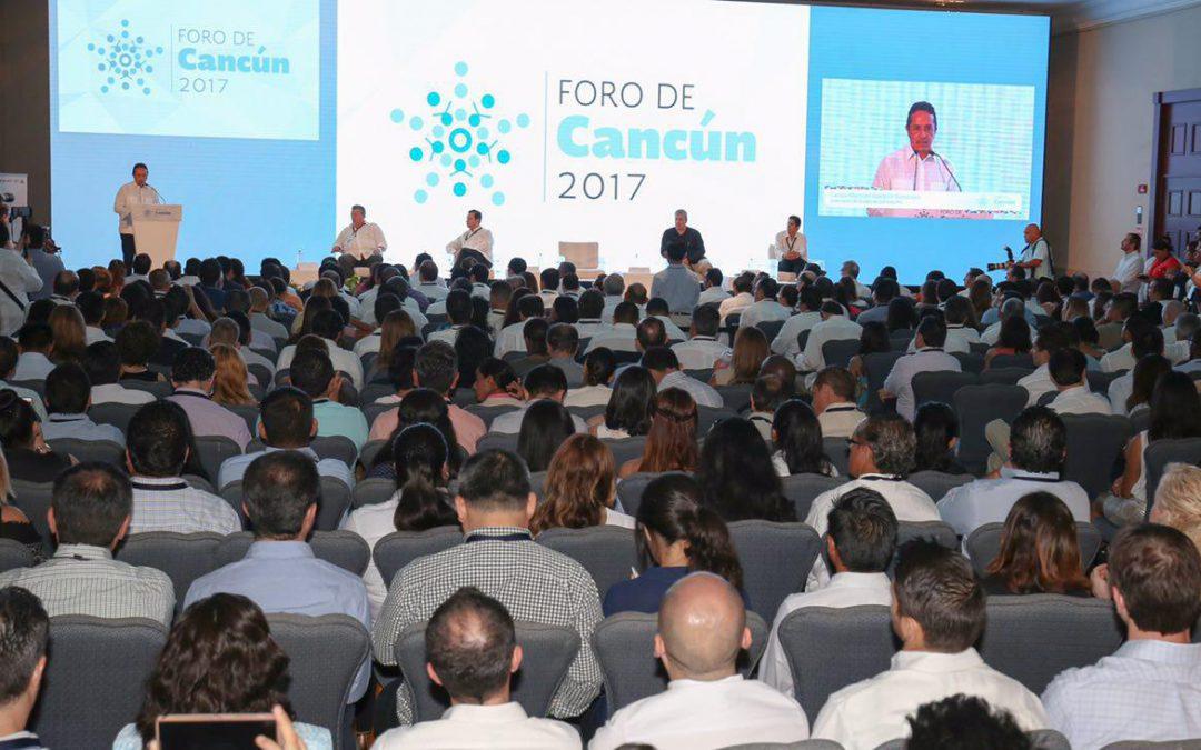 ((AUDIO)) Mensaje del Gobernador Carlos Joaquín al inaugurar el Foro Internacional de Negocios de América Latina y el Gran Caribe en el hotel Presidente Intercontinental de Cancún