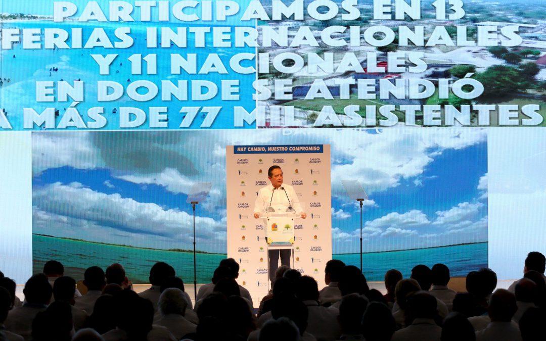Discurso del Gobernador Carlos Joaquín, en el Centro Internacional de Negocios y Convenciones